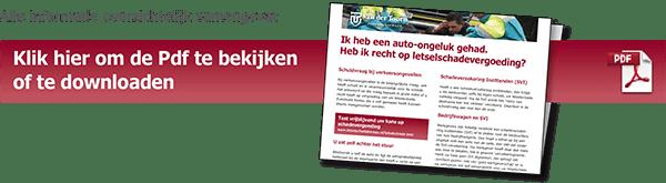 Brochure letselschade auto ongeluk